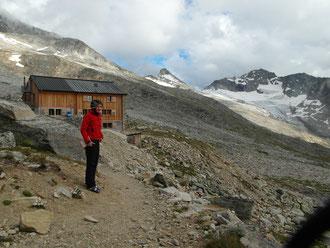 Weissmies, SSE Grat, Süd-Südost Grat, Almagellerhütte