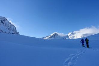 Skitour Piz Fora, la Margna