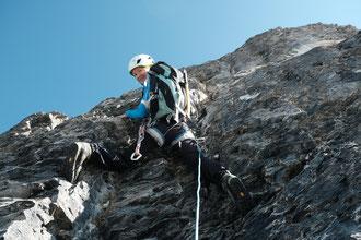 Fründenhorn SW Grat, Südwestgrat, Westgrat, Fründehorn, Fründenjoch, Zustieg, Doldorphin, Fründenhütte, Oeschinenseesjochhütte