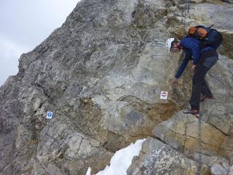 Vrenelisgärtli, Guppengrat, Abstieg Normalweg, Schwandener Grat