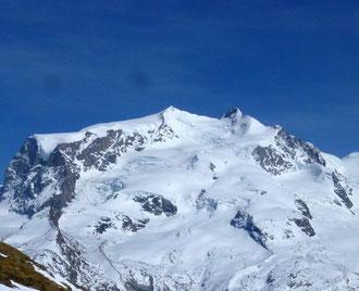 Zustieg, Monterosa Hütte, Schwarztor, Skitour,Schwärzegletscher, Dufourspitze, Nordend, Skihochtouren, Wallis