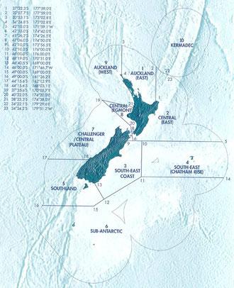 ニュージーランド海域