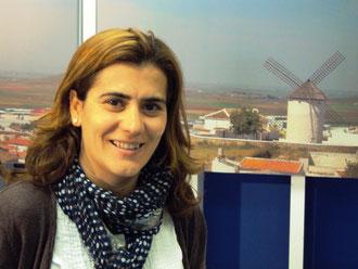 Nuria Mª Villacañas Sánchez. Primera mujer Presidente de la Cofradía del Santo Entierro.
