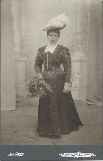 Spritzenpatin Maria Haidvogel, geb. Windisch