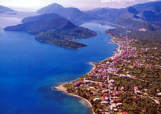 Lefkada from the top
