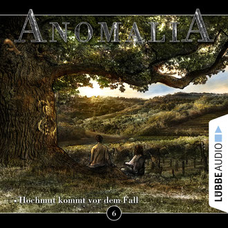 CD-Cover Anomalia Folge 6
