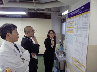 物質応用化学科卒業研究発表会(ポスター発表)