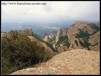История горного массива Монтсеррат