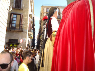 Традиции Каталонии - гиганты