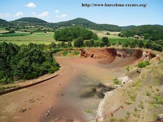 Ла Гарроча - вулканическая зона