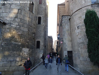 Римские крепостные стены в Барселоне