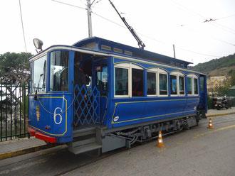 Барселона - Голубой трамвай