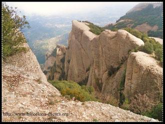 Монтсеррат - история образования горного массива