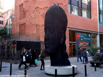 кармела барселона, борн барселона, уличная скульптура барселоны, пешеходные экскурсии по барселоне