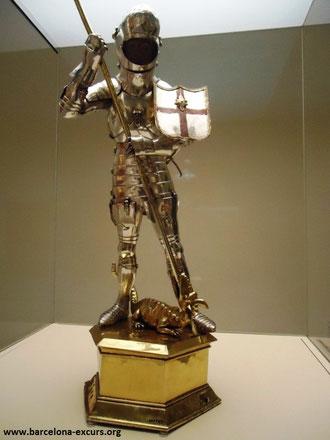 святой георгий покровитель каталонии, святой георгий, гиды в барселоне, экскурсии в барселоне