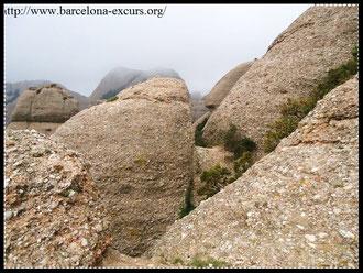 Гора Монтсеррат - история образования