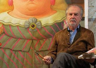 Скульптор и художник Фернандо ботеро