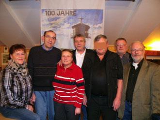 Links: Iris Bade, Hermann Buck, Renate Ruge, Dieter Wernsdorf, Hartmut Bergmann, Reiner Heß, Hans-Jürgen Umland