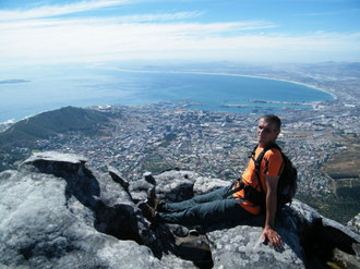 View above Cape Town
