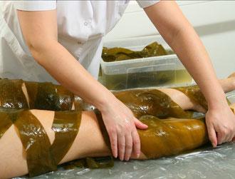 Обертывание морскими водорослями