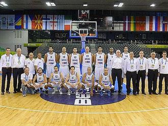 Die israelische Basketball-Nationalmannschaft 2013