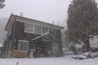 管理事務所 雪