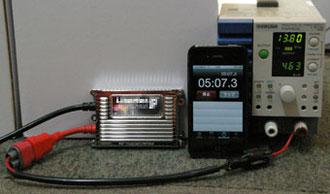HID 電力測定
