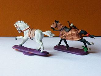Leichtes und schweres Pferd
