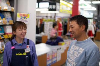 写真右 代表取締役社長 最上谷文昭