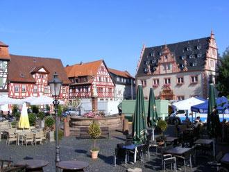 Markt von Groß-Umstadt