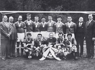 Meistermannschaft Saison 1967/68