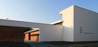 Foto: Martin Schall, modern churches in  www.you-are-here.com