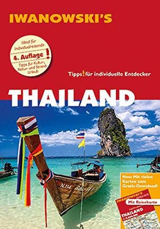 Cover des Iwanowski Reiseführers für Thailand.