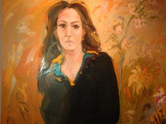 Rita Loreti ritratta da Adolfo Loreti