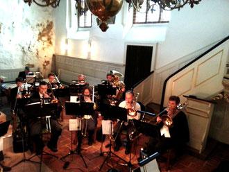 Die Posaunen und die Tuba