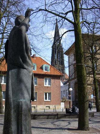 Von Galen-Blick auf Lambertikirche, WK