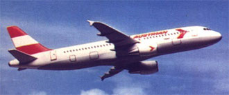 Modell einer Airbus A320/ Airbus Industrie