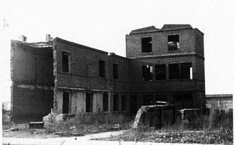 Foto ausgebrannte Fabrik