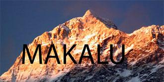 Makalu depuis le col du Makalu