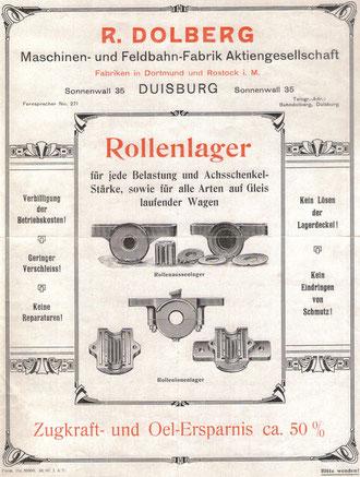 Dolberg - Rollenlager