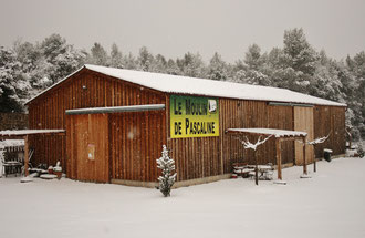 Le moulin sous la neige ! 23 février 2013