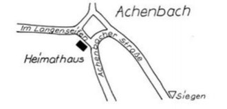 Wegbeschreibung zum Heimathaus Achenbach
