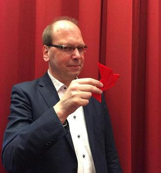 Klaus Eck mit digitalem #Zugvogel