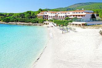 Spiaggia Punta Negra di Alghero