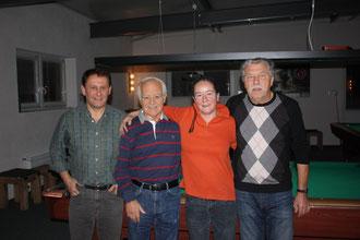 v.l. G.Gugerli/H. Zingel  -  B.Wegmann/K.Bader