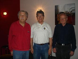 v.l. Kurt Bader / Remy Rüttimann / Sergio Vecellio