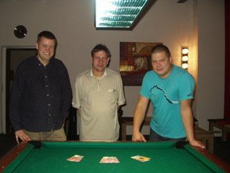 v.l. Markus Körber / Hansjörg Pauleit / Dragan Petrovic