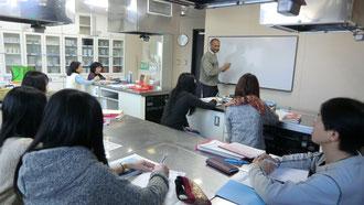 ヒンディー語講座、初日の風景