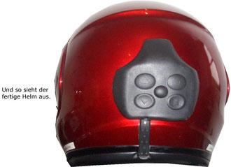 Shoei Multitec mit sauber montierter BlueBike-Anlage  ( 25.02.2009 )