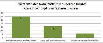 Phosphor-Belastung